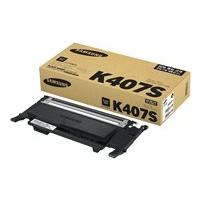 Samsung CLT-K407S - black - original - toner cartridge