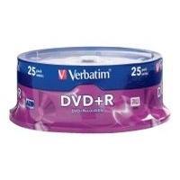 Verbatim - DVD+R x 25 - 4.7 Go - support de stockage