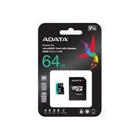 ADATA Premier Pro V30S - flash memory card - 64 GB - microSDXC UHS-I