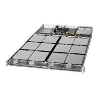 Supermicro SuperStorage Server 5018A-AR12L - Montable sur rack - Atom C2750 2.4 GHz - 0 Go - aucun disque dur