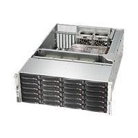 Supermicro SC846 BE16-R1K28B - rack-mountable - 4U - enhanced extended ATX  RM