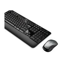 Logitech Wireless Combo MK520 - keyboard and mouse set - US