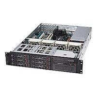 Supermicro SC822 T-400LP - rack-mountable - 2U - extended ATX SRM