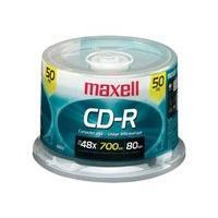 Maxell - CD-R x 50 - 700 Mo - support de stockage