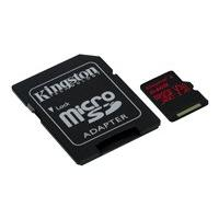 Kingston Canvas React - flash memory card - 64 GB - microSDXC UHS-I