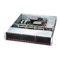 Supermicro SC216 BA-R1K28LPB - rack-mountable - 2U - enhanced extended ATX  RM