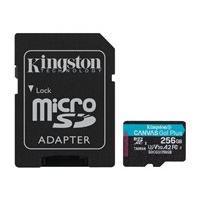 Kingston - carte mémoire flash - 256 Go - microSDXC UHS-I