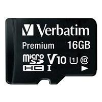 Verbatim - carte mémoire flash - 16 Go - micro SDHC