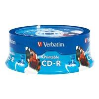 Verbatim - CD-R x 25 - 700 MB - storage media