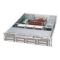 Supermicro SC825 TQ-R700LPB - rack-mountable - 2U - extended ATX  RM