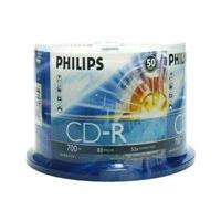 Philips - CD-R x 50 - 700 MB - storage media