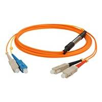 AddOn 3m SC OM1 & OS1 Orange Mode Conditioning Cable - mode conditioning cable - 3 m