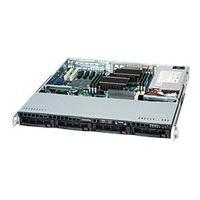 Supermicro SC813M TQ-600CB - rack-mountable - 1U - ATX  RM