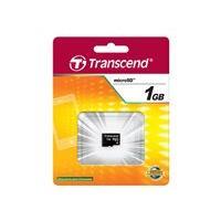 Transcend - carte mémoire flash - 1 Go - micro SD