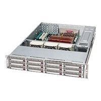 Supermicro SC826 TQ-R800LPB - rack-mountable - 2U - extended ATX  RM
