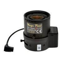 AXIS Megapixel CCTV lens - 2.8 mm - 8 mm
