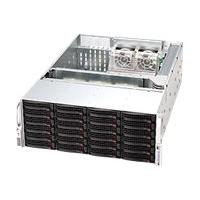 Supermicro SC846 - rack-mountable - 4U - enhanced extended ATX  RM