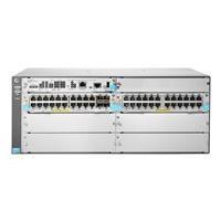 HPE Aruba 5406R 44GT PoE+ / 4SFP+ (No PSU) v3 zl2 - switch - 44 ports - managed - rack-mountable