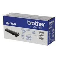 Brother TN760 - High Yield - black - original - toner cartridge