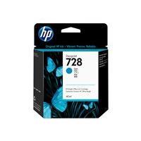 HP 728 - cyan - original - DesignJet - ink cartridge