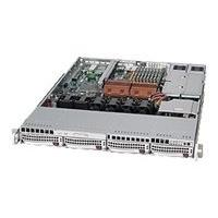 Supermicro SC815 TQ-R650UB - rack-mountable - 1U - extended ATX  RM