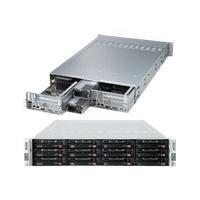 Supermicro SuperServer 6027TR-DTRF+ - Montable sur rack - pas de processeur - 0 Go