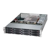 Supermicro SC826 BE26-R1K28LPB - rack-mountable - 2U - extended ATX DRM