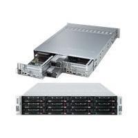 Supermicro SuperServer 6027TR-DTRF - Montable sur rack - pas de processeur - 0 Go