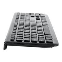 Verbatim Wireless Slim - keyboard and mouse set - English - piano black