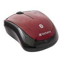 Verbatim Wireless Tablet Multi-Trac Blue LED Mouse - mouse - Bluetooth - garnet