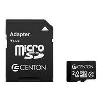 Centon MP Essential - flash memory card - 2 GB - microSDHC