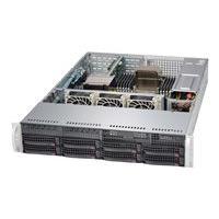 Supermicro SC825 TQC-600WB - Montable sur rack - 2U - Extended ATX améliorée