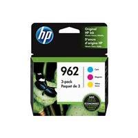 HP 962 - 3-pack - yellow, cyan, magenta - original - Officejet - ink cartridge