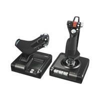 Logitech X52 Professional H.O.T.A.S. - joystick et accélérateur - filaire