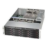 Supermicro SC836 BE1C-R1K03B - rack-mountable - 3U - enhanced extended ATX  RM