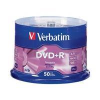 Verbatim - DVD+R x 50 - 4.7 Go - support de stockage (pack de 6)