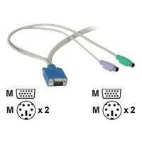 C2G keyboard / video / mouse (KVM) cable - 2.4 m