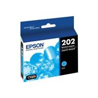 Epson 202 With Sensor - cyan - original - ink cartridge
