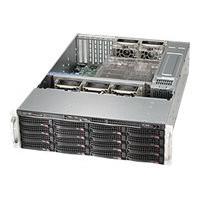 Supermicro SC836 BE2C-R1K03B - rack-mountable - 3U - enhanced extended ATX  RM