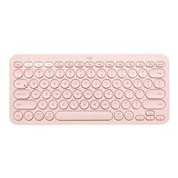 Logitech K380 Multi-Device Bluetooth Keyboard - clavier - QWERTY - US - rose