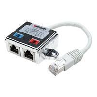 Intellinet Distributeur modulaire à 2 ports, FTP - répartiteur de réseau - argent