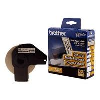 Brother DK1204 - étiquettes multi-emploi - 17 x 54.3 mm
