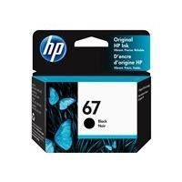 HP 67 - noir pigmenté - original - cartouche d'encre (Canada, Etats-Unis)