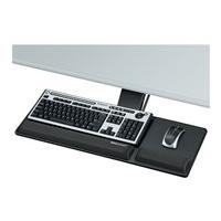 Fellowes Designer Suites Compact Keyboard Tray - keyboard/mouse tray