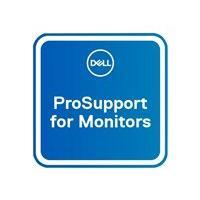 Dell Upgrade from 3Y Basic Advanced Exchange to 5Y ProSupport for monitors - contrat de maintenance prolongé - 5 années - sur site