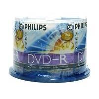 Philips - DVD-R x 50 - 4.7 Go - support de stockage