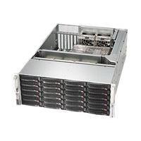 Supermicro SC846 BE26-R1K28B - rack-mountable - 4U - enhanced extended ATX  RM