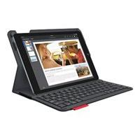 Logitech Type for Apple iPad Air 2 - keyboard and folio case - black