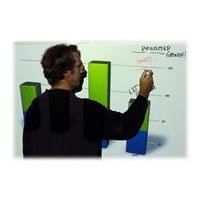 Elite Screens Insta-DEM Series iWB52VWM - whiteboard projection screen - 52