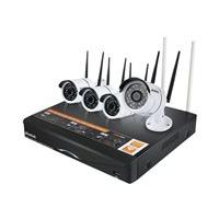 Plustek NVR Wireless Kit - DVR + camera(s) - wireless, wired